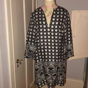 Tory Burch silk shift dress